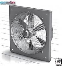 Square axial ventilator